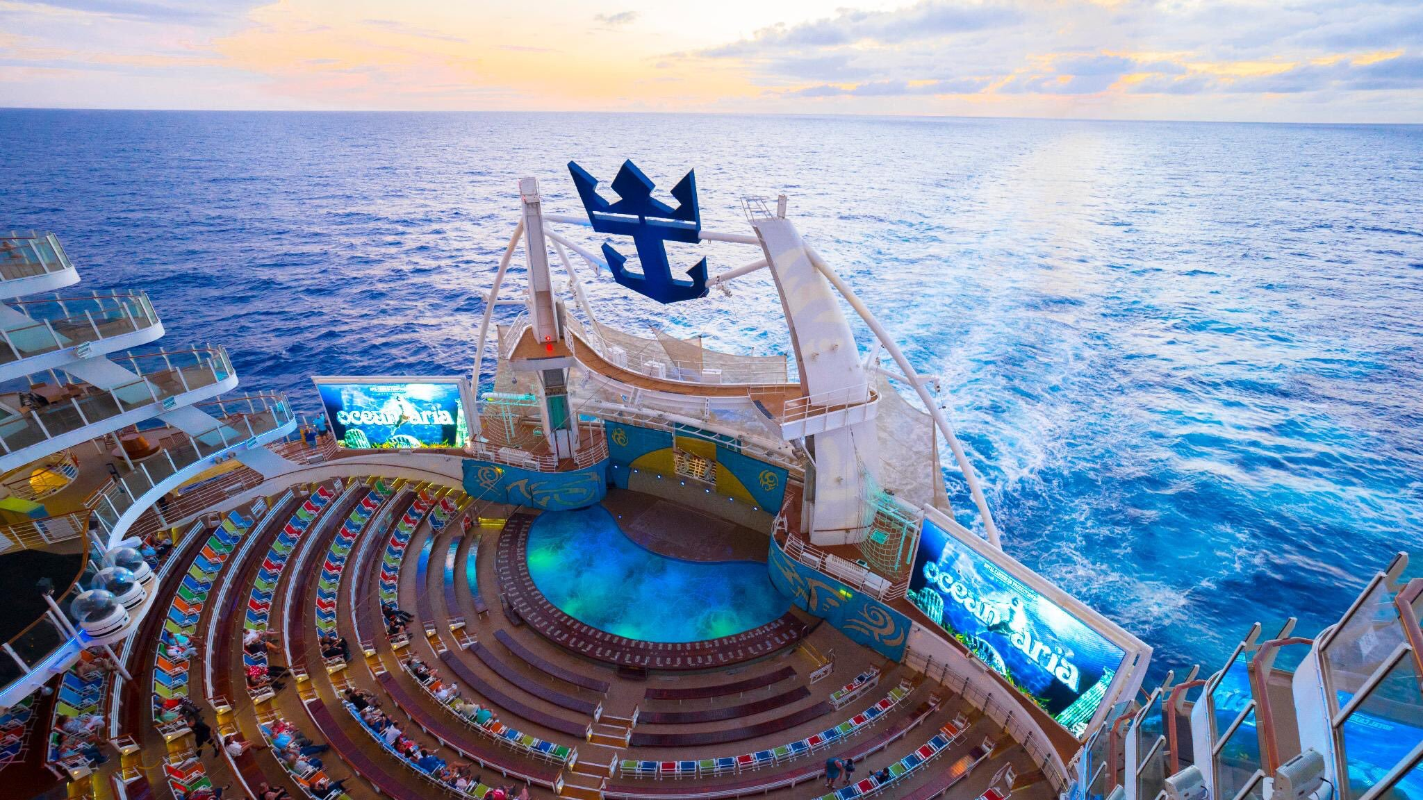 Acqua Theather - Oasis of the Seas - royalcaribbean.com