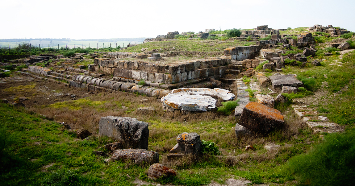 Remains of the ancient temple of the Altar of the Queen