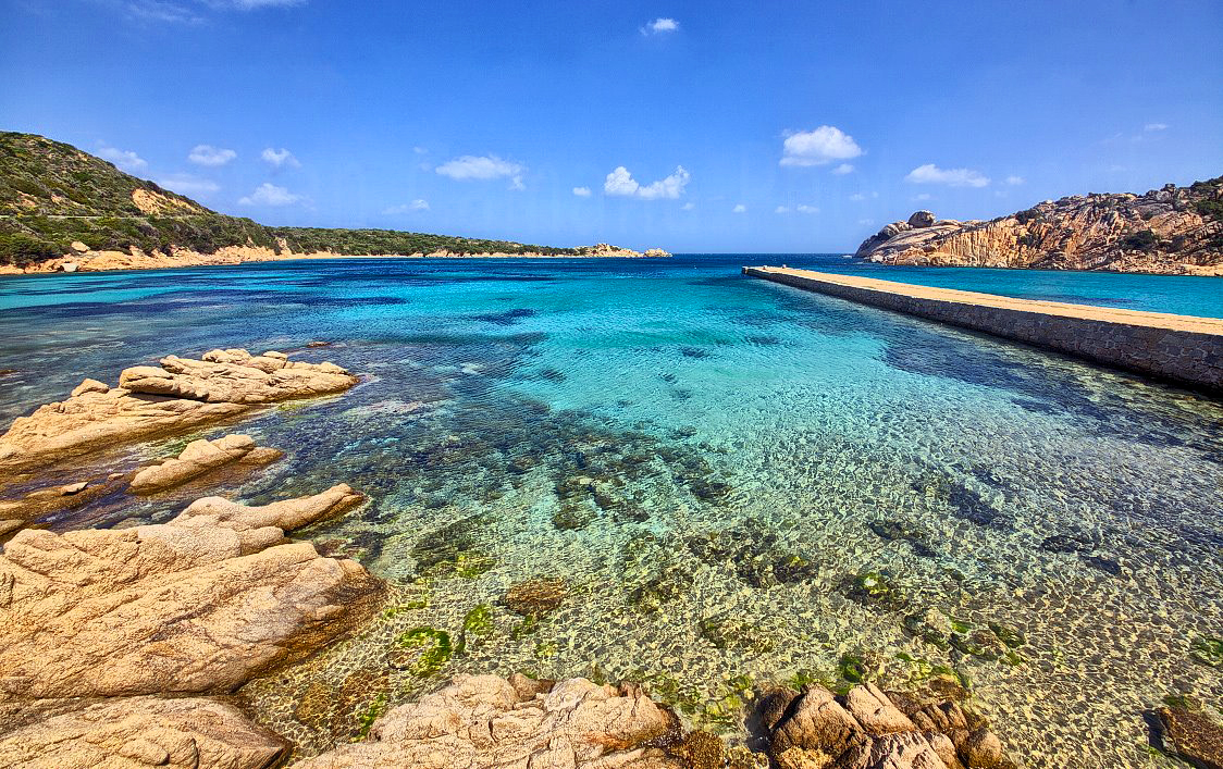 Most beautiful beaches of the maddalena archipelago port for Beautiful beaches in la