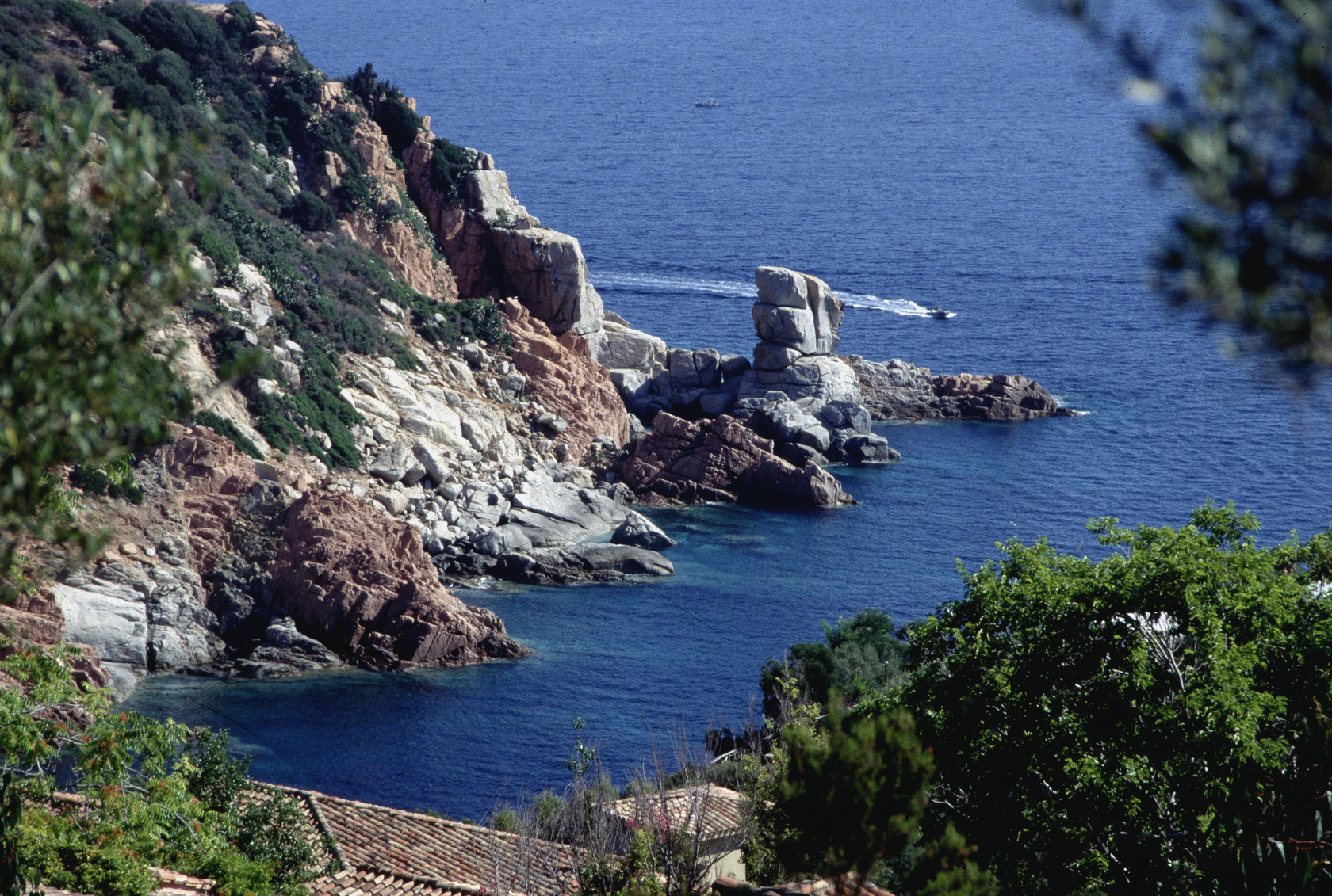 Cape of Bellavista in Arbatax