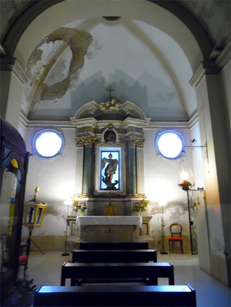 Chapel San Michele in the Church of Death - Civitavecchia