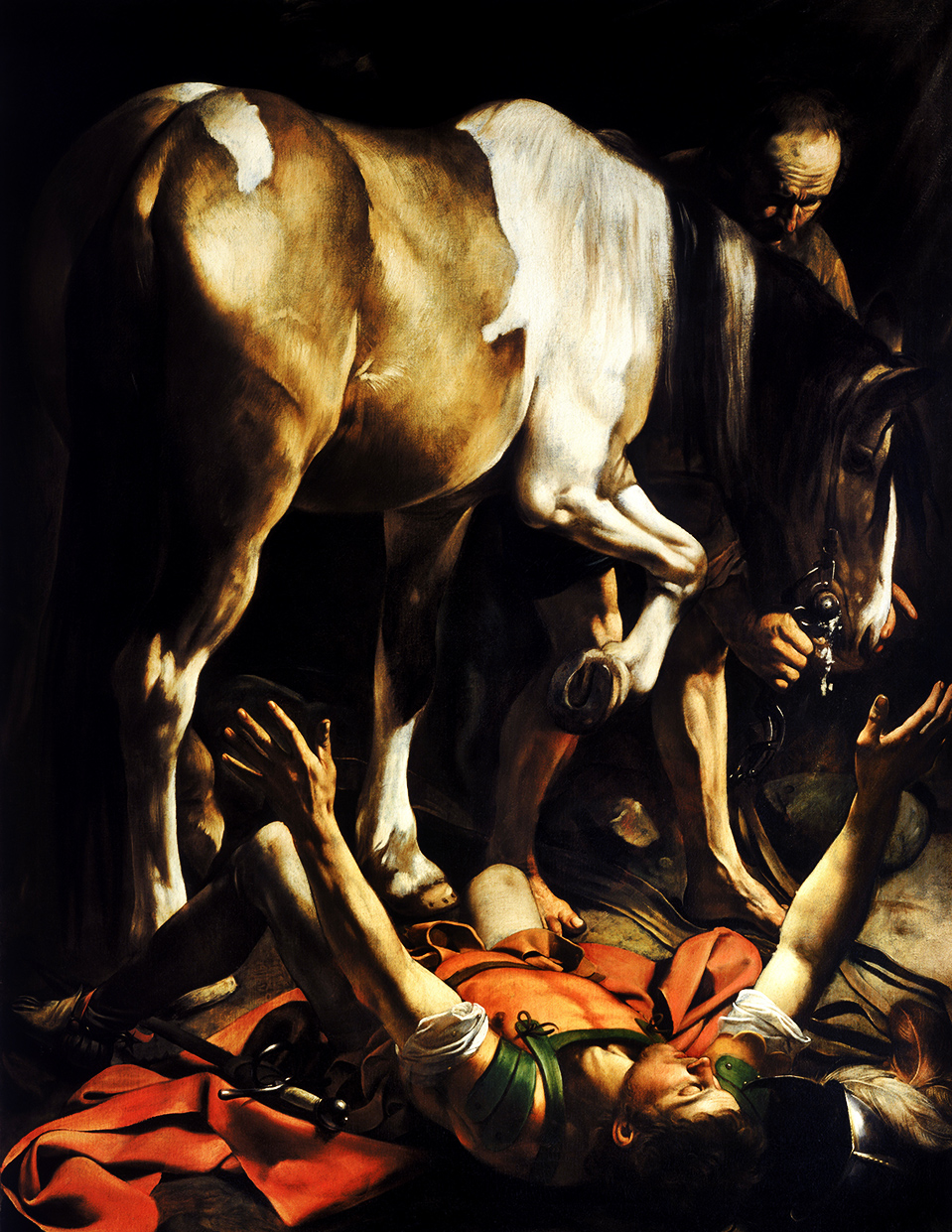 Caravaggio - Conversion on the Way to Damascus
