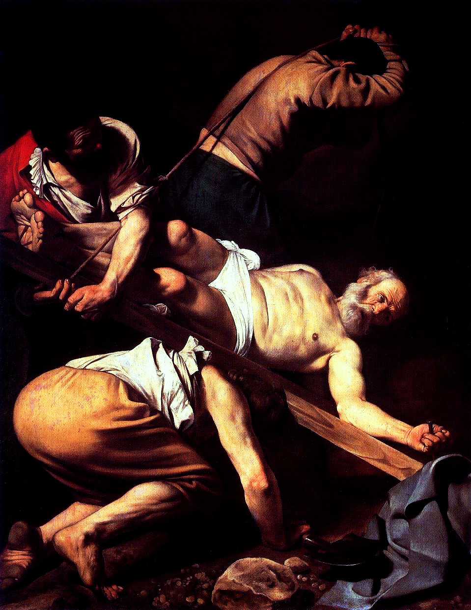 Caravaggio - Crucifixion of St. Peter