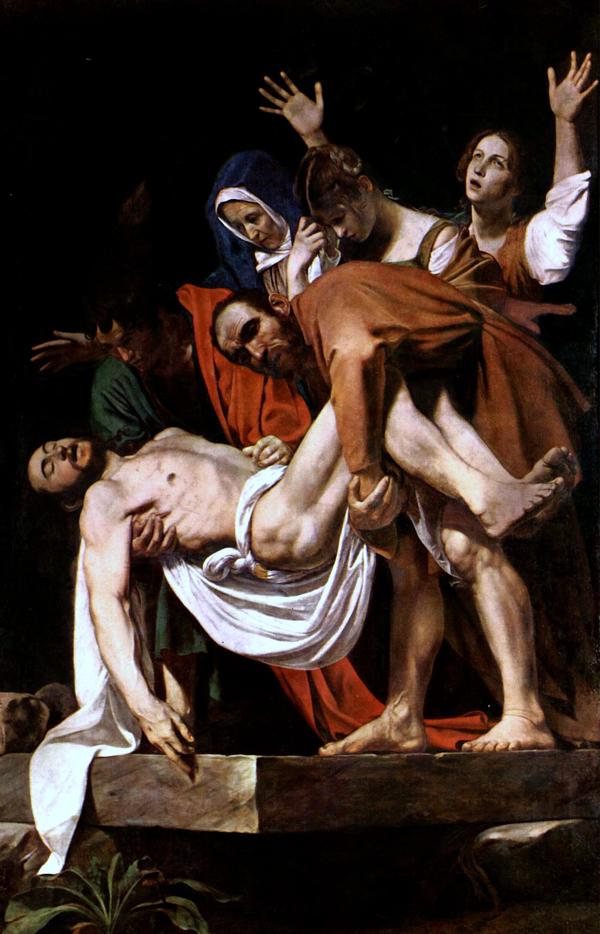 Caravaggio - The Entombment of Christ