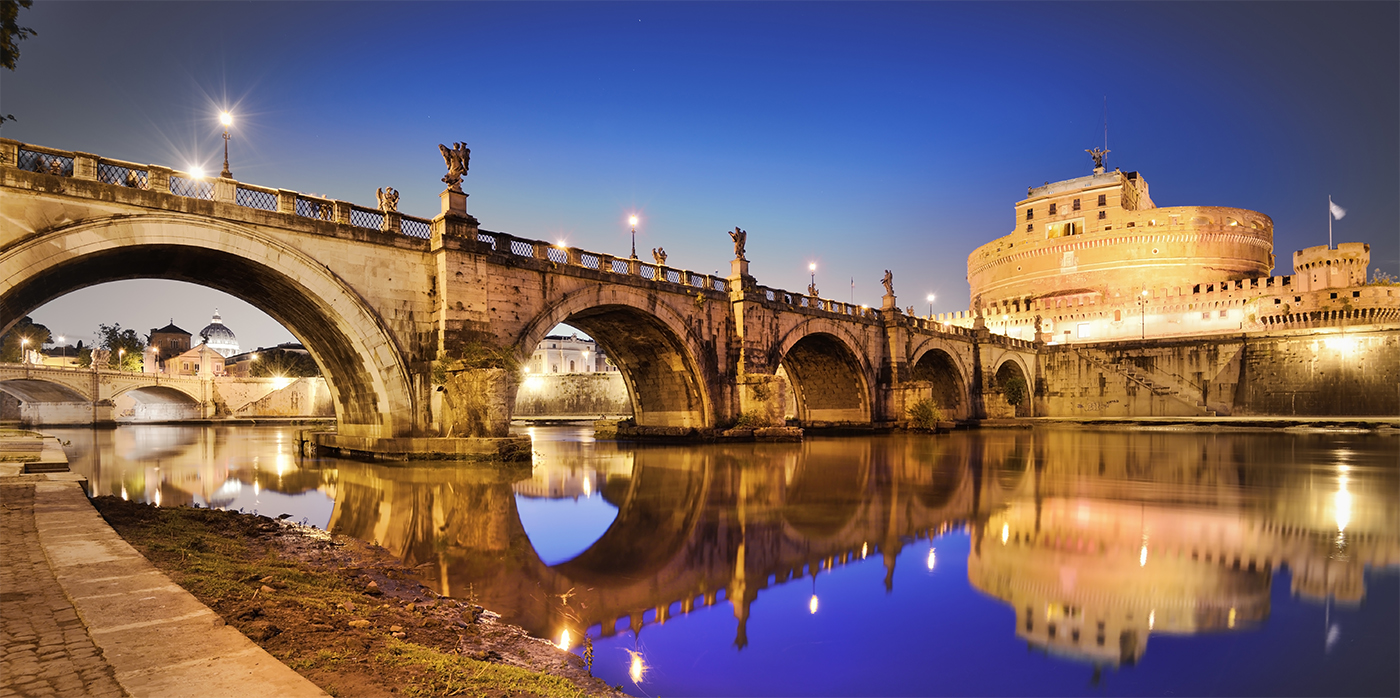 Castel Sant'Angelo and Ponte dell'Angelo