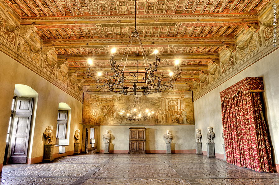 Castle of Bracciano - Hall of the Caesars