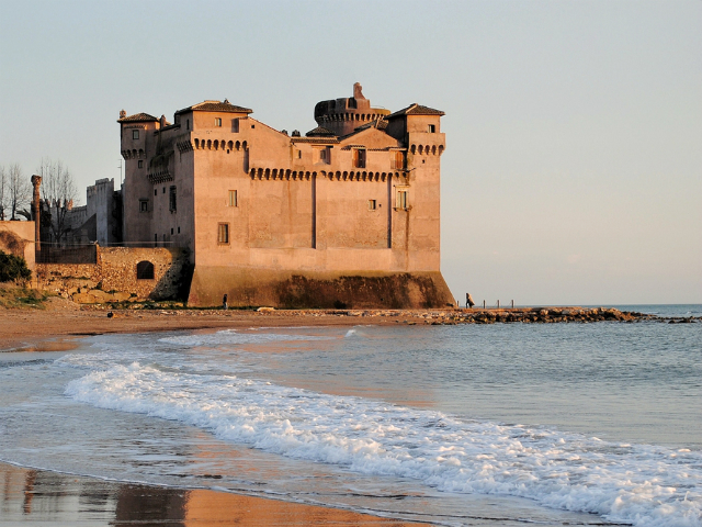 Castle Of Santa Severa Port Mobility Civitavecchia