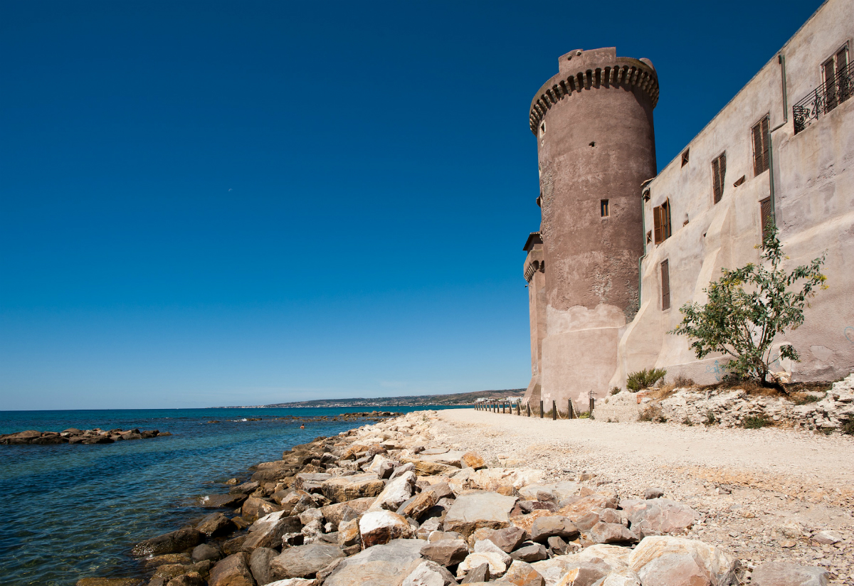 Saracen Tower of the Castle of Santa Severa