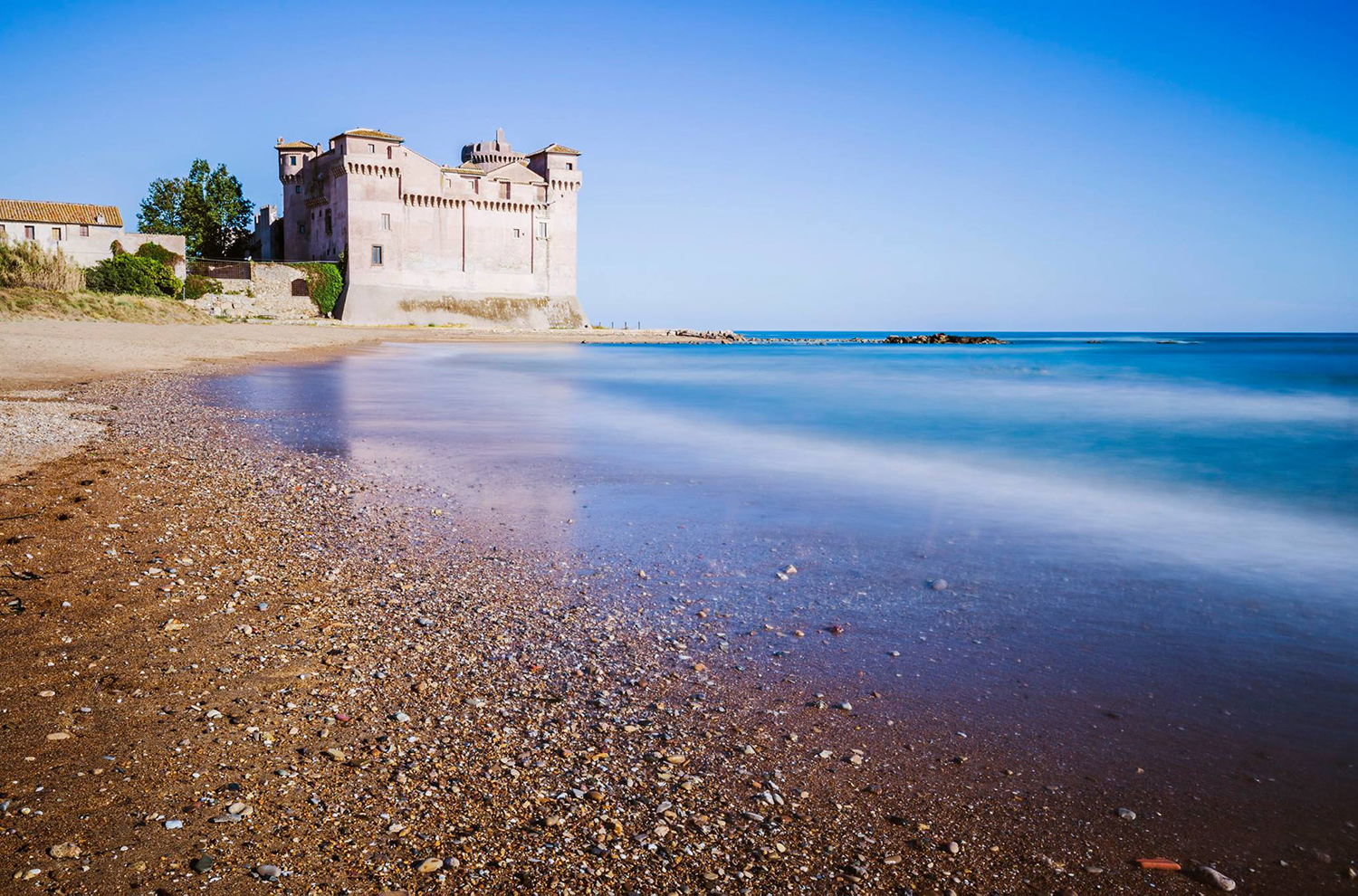 The Castle of Santa Severa