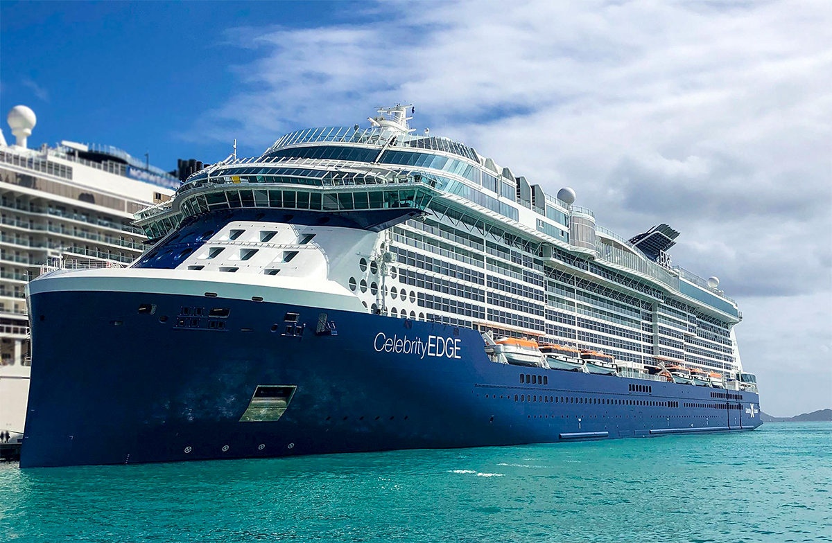 Celebrity Edge is the new flagship of Celebrity Cruises