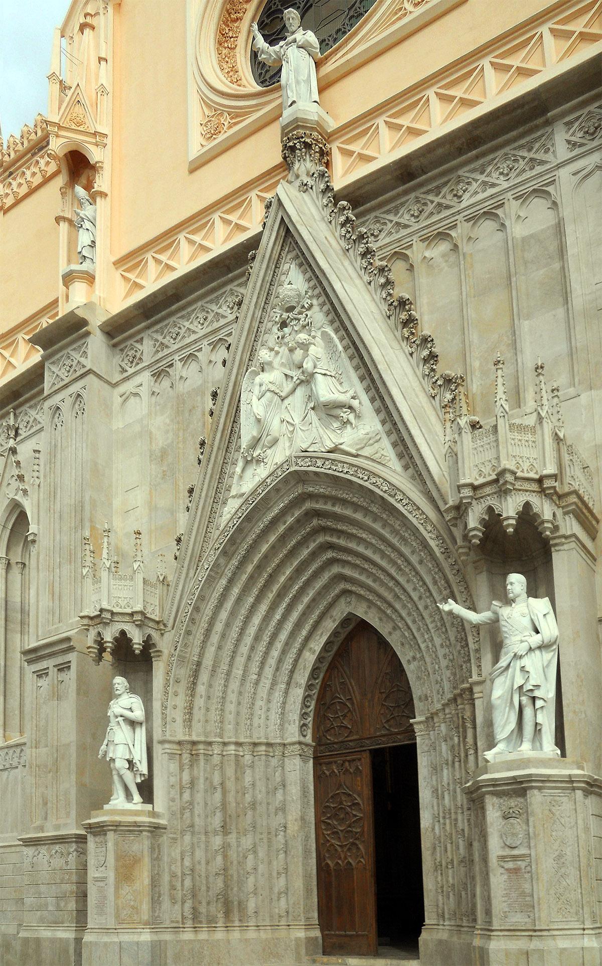 Quattro Chiese Papali Chiesa Di San Francesco Gaeta Facciata