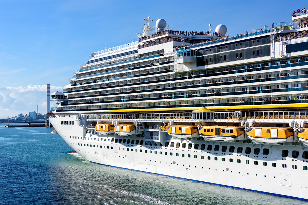 Civitavecchia is again in 2017 a leading port as per number of cruises in Italy with 2,204,336 passengers