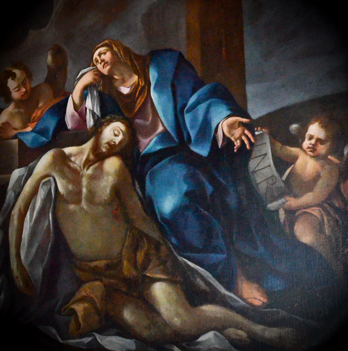 Vergine con il Cristo Morto attribuito ai fratelli Carracci