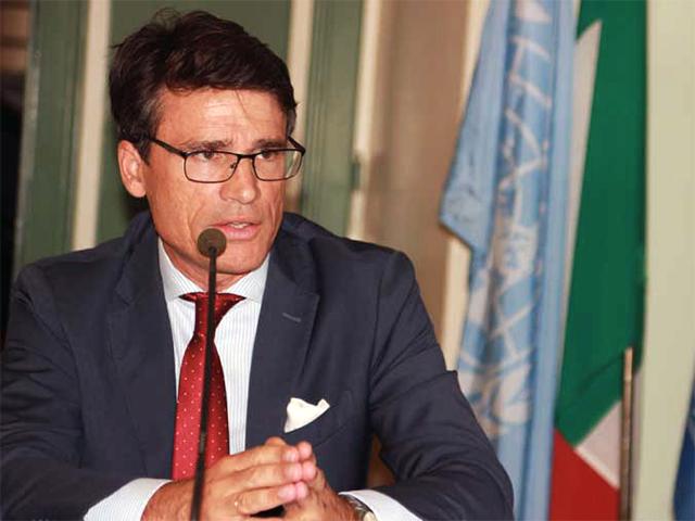 Il Presidente dell'AdSP del Mar tirreno C.S. Francesco Mario di Majo
