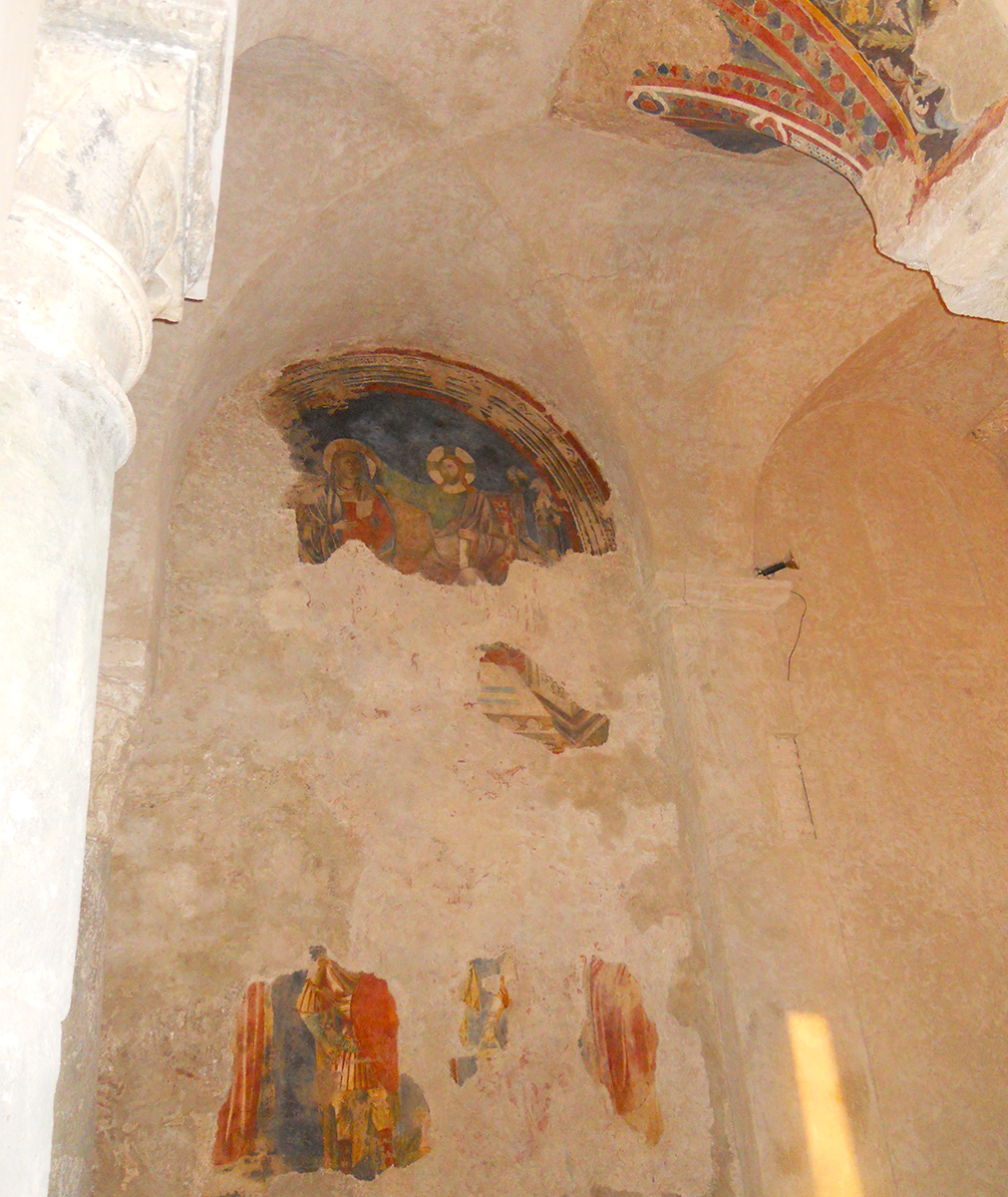 Church of San Giovanni a mare - other frescoes in the left aisle