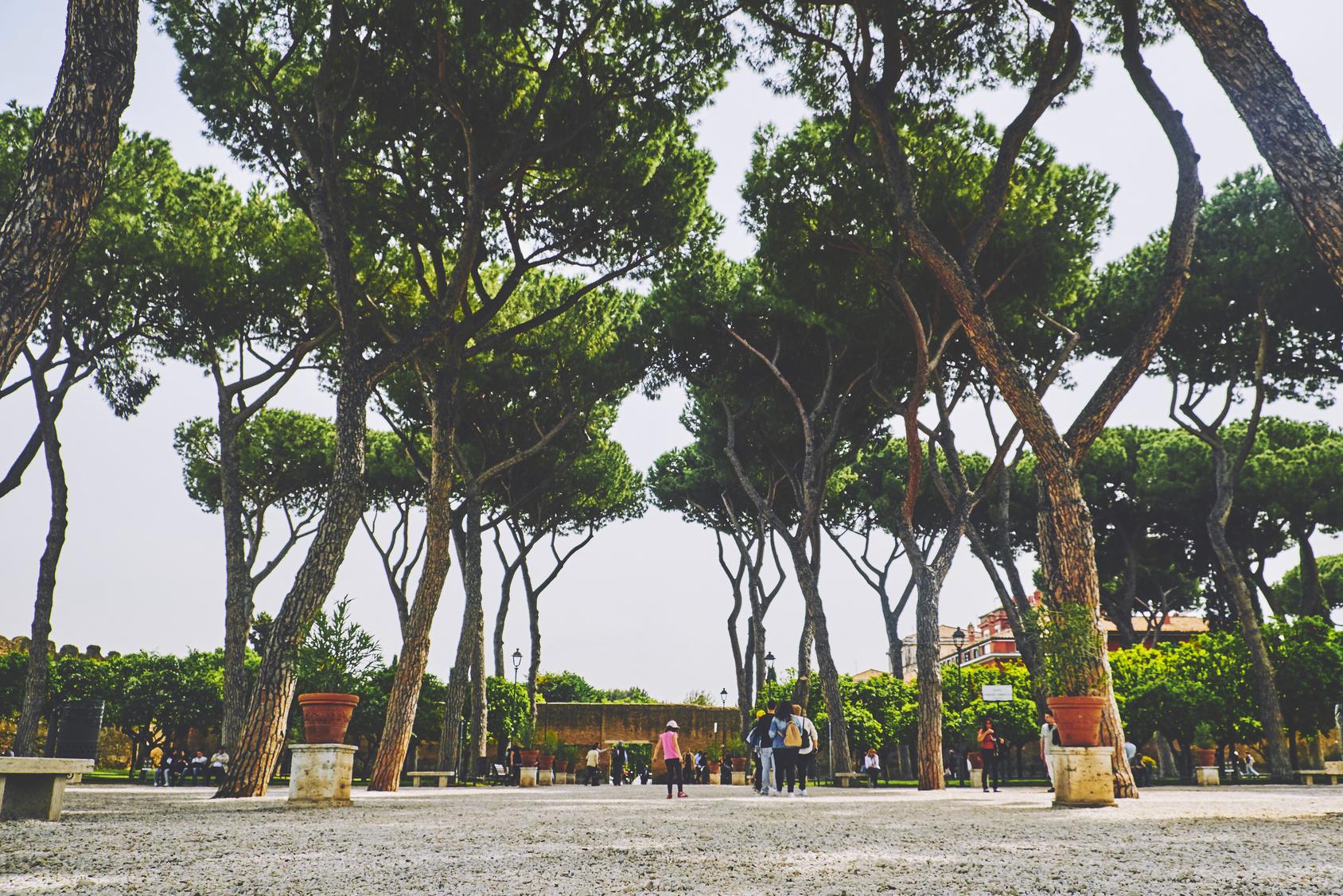 Giardino degli aranci il luogo pi suggestivo di roma port mobility civitavecchia - Il giardino degli aranci frattamaggiore ...
