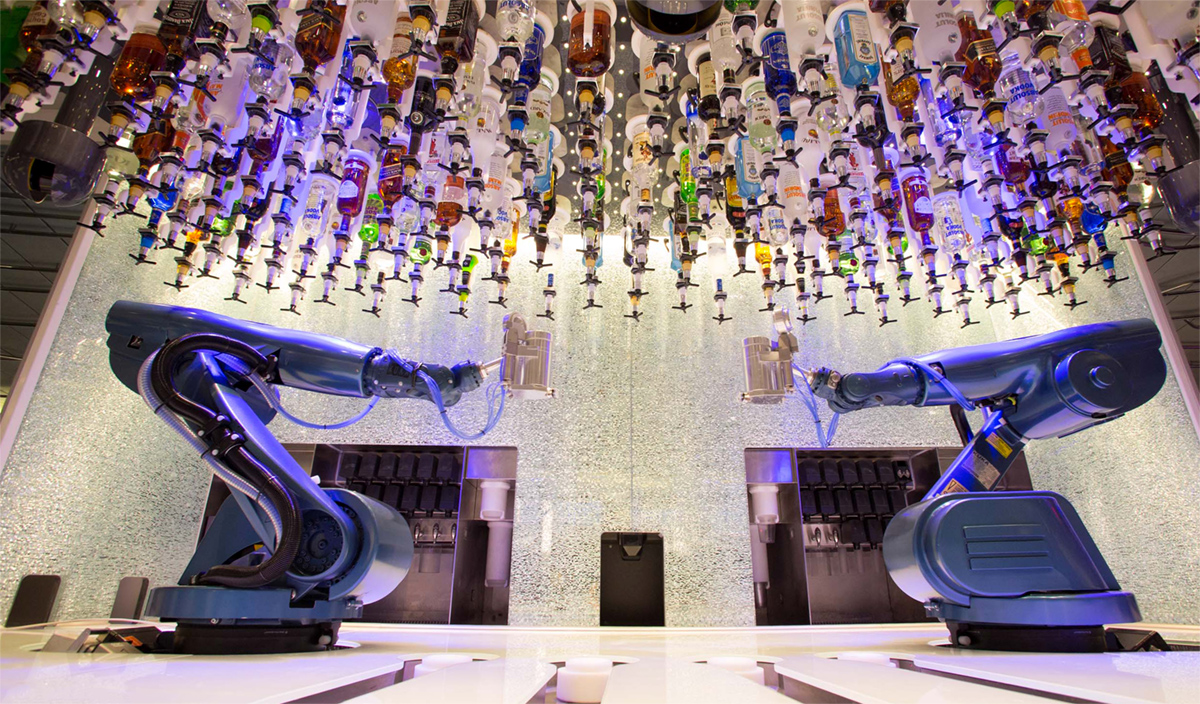 La Harmony of The Seas -  Bionic Bar