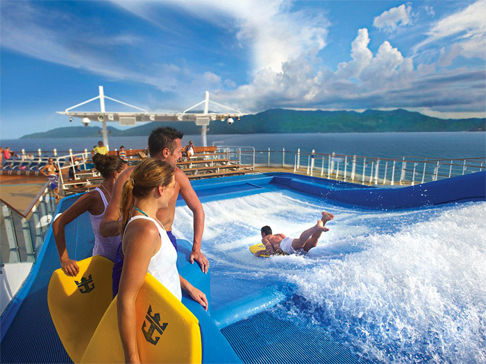 La Harmony of The Seas - Il Simulatore di Surf