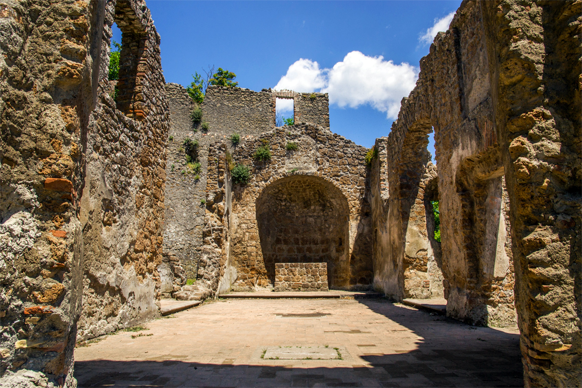 Monterano - Ruins of the old village