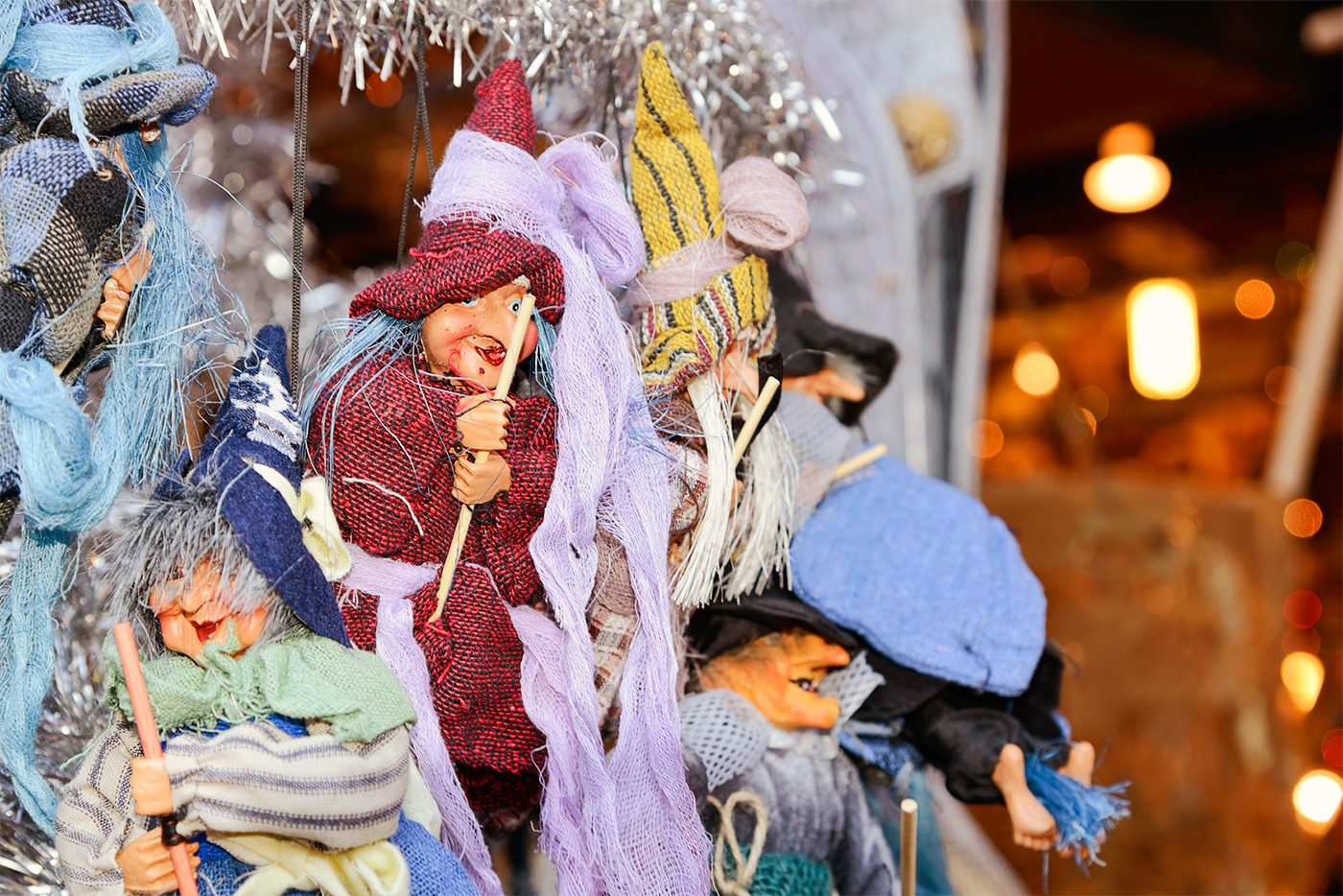 Traditional markets on the occasion of the Befana in Piazza Navona