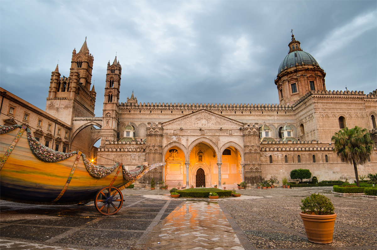 Palermo Cathedral, one of the 10 things you can't absolutely miss