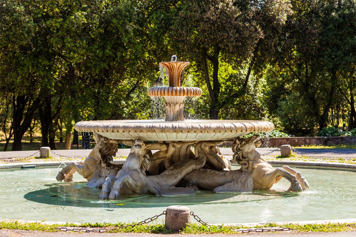 Cosa fare e vedere a villa borghese in 10 foto port for Fontana artificiale