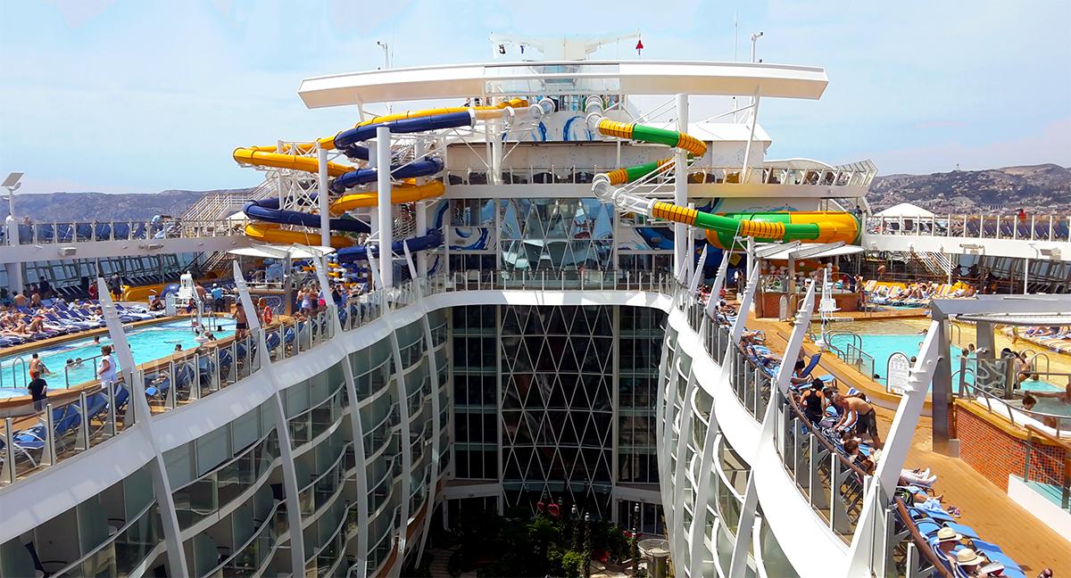 Le 10 navi da crociera pi grandi del mondo port for Cabina interna su una nave da crociera