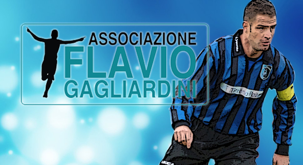 Logo of the Association and Flavio Gagliardini in action