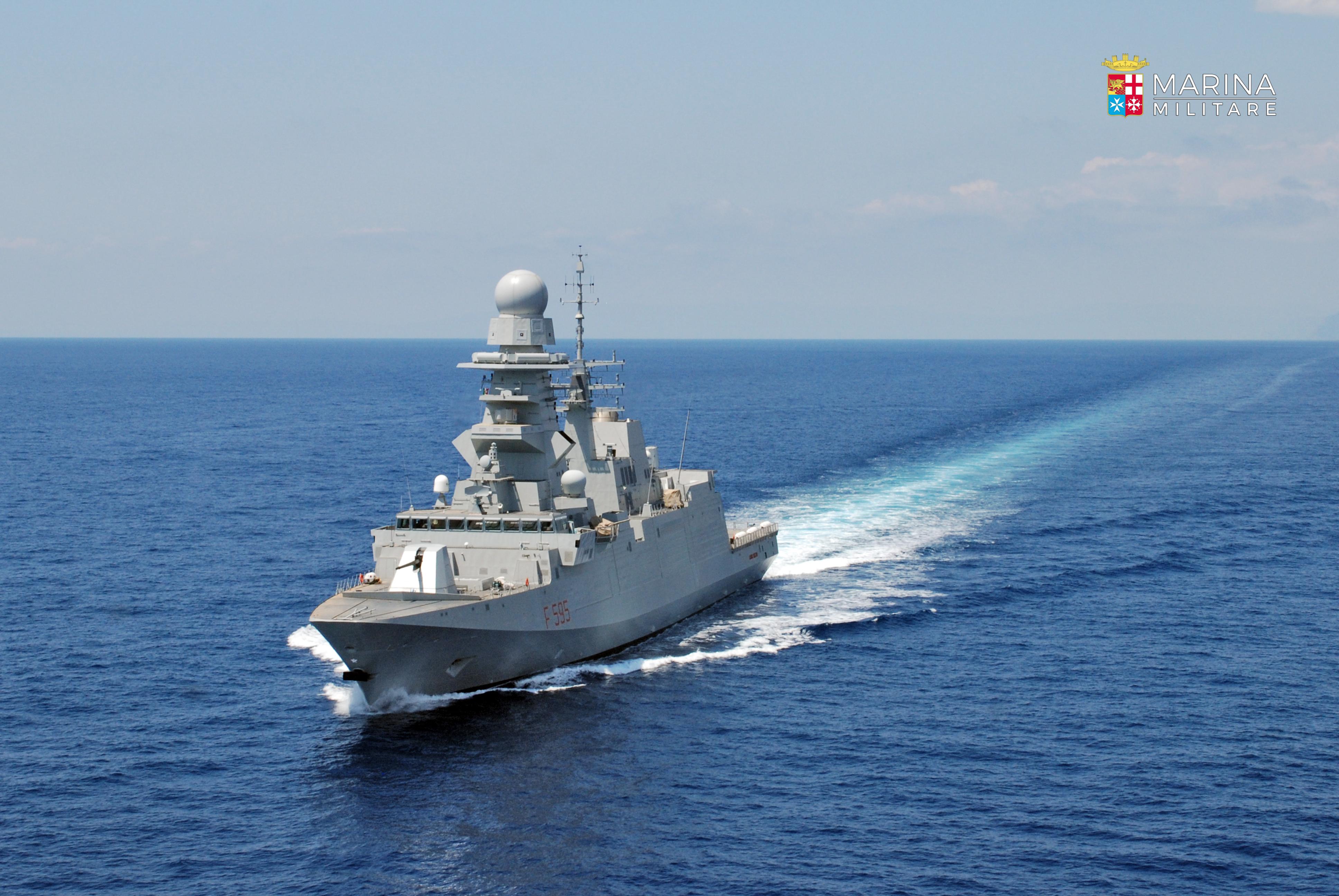 Calendario Marina Militare 2019.La Nave Militare Luigi Rizzo In Visita A Civitavecchia