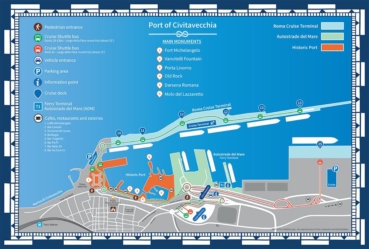 Monuments de civitavecchia - Getting from civitavecchia port to rome ...