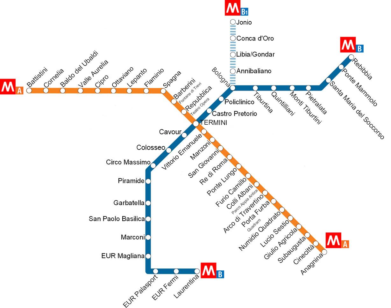 Cartina Autobus Roma.Muoversi A Roma Con Atac Metro Bus E Tram Ecco Come Port Mobility Civitavecchia