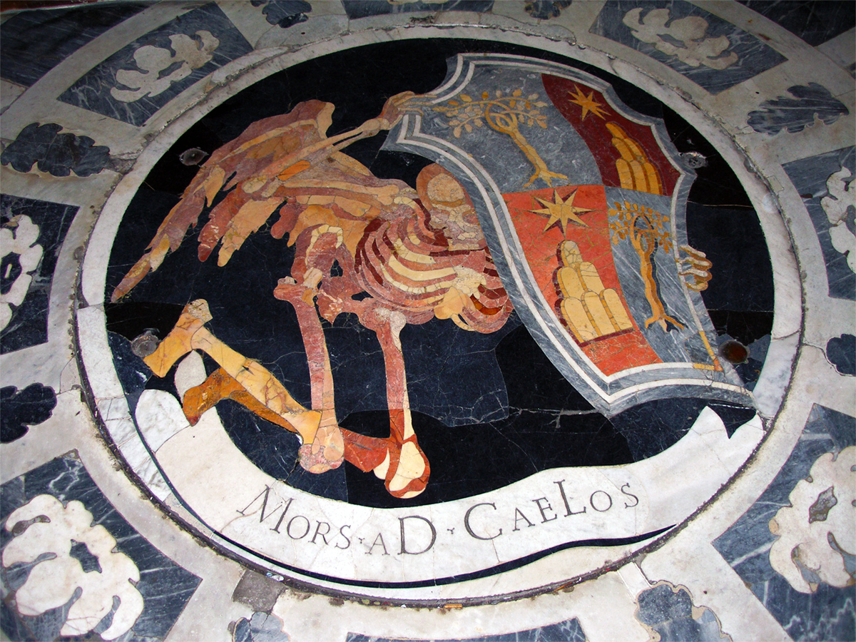 Winged Death by Bernini - Mors aD CaeLos