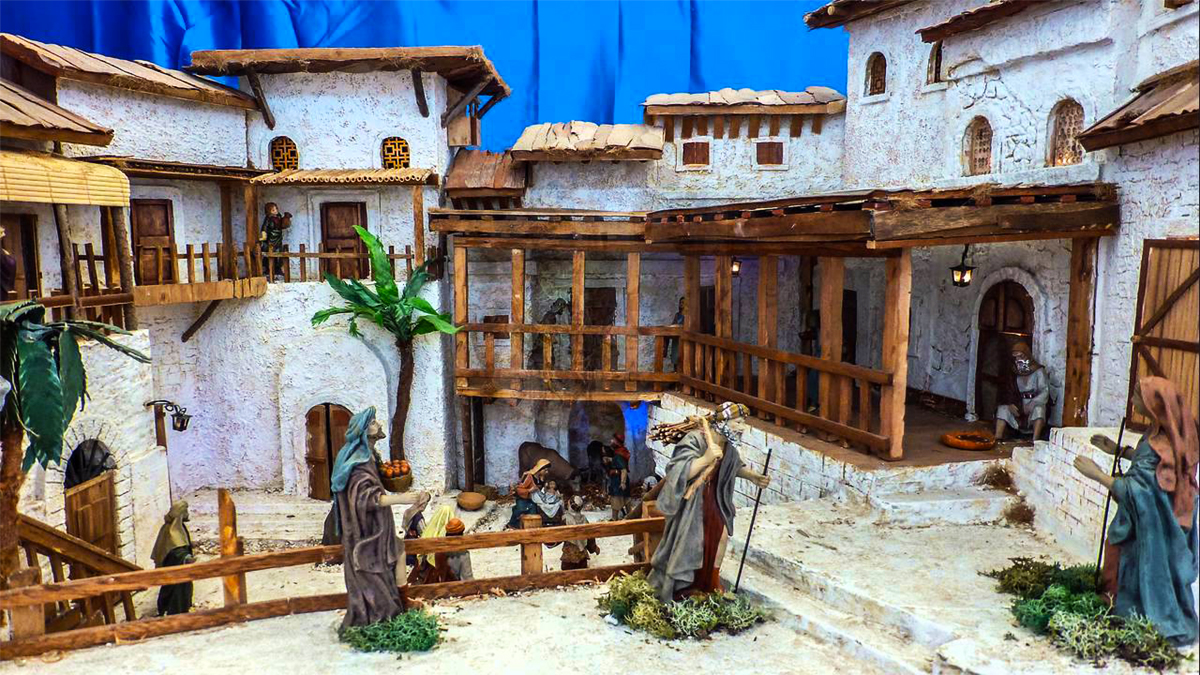 Nativity Scenes Exhibition at the Rock of Civitavecchia - Some pictures of past editions