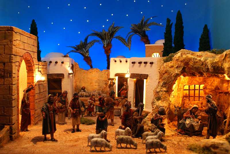 Nativity Scenes at the Rock of Civitavecchia
