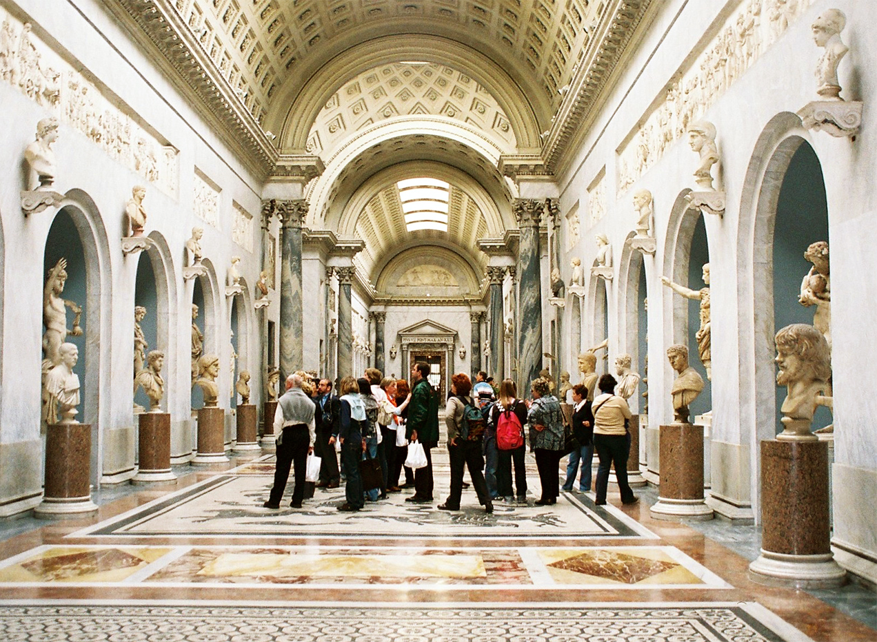 The daily average amount of visitors to the Vatican Museums is around 30,000 people!