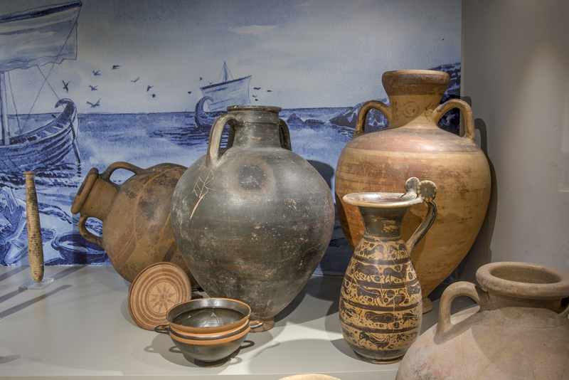 Etruscan Urns - Archaeological Museum of Vulci
