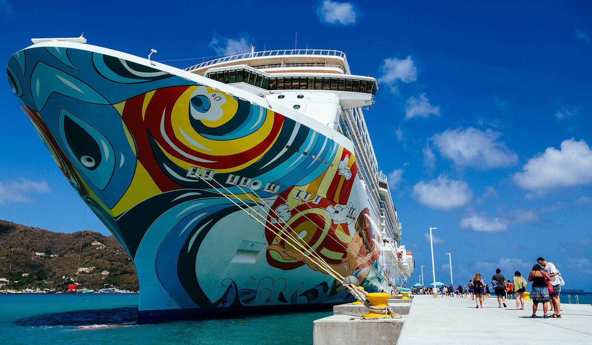 Le 10 navi da crociera pi grandi del mondo port for La villa piu grande del mondo