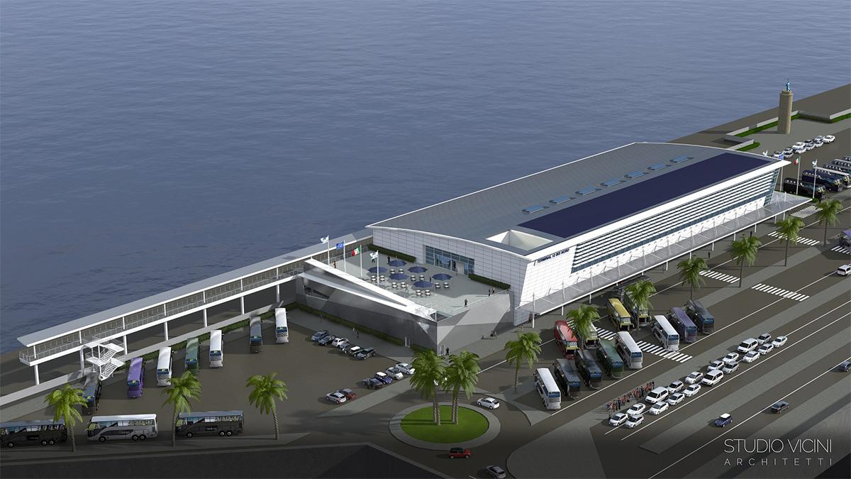 Port of civitavecchia inauguration of the new rct cruise - Port of civitavecchia cruise terminal ...