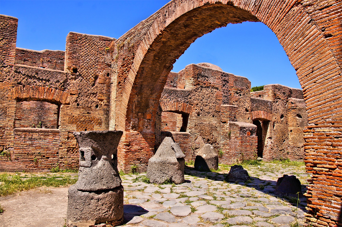 The Ruins of Ostia Antica