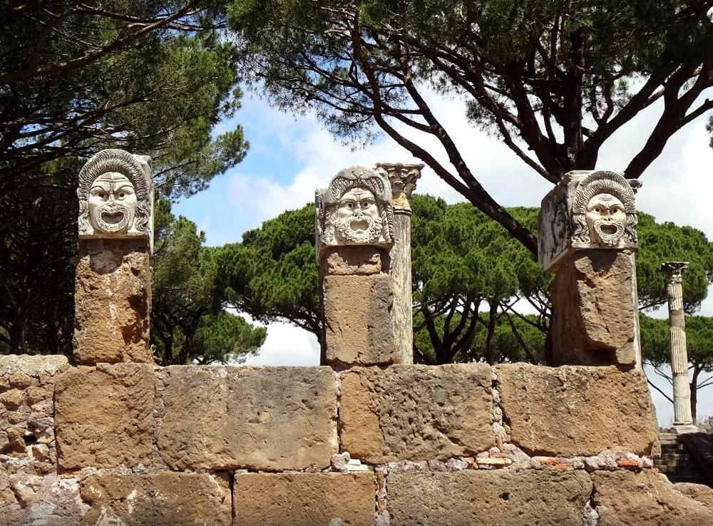Ostia Antica Archeological Ruins Port Mobility