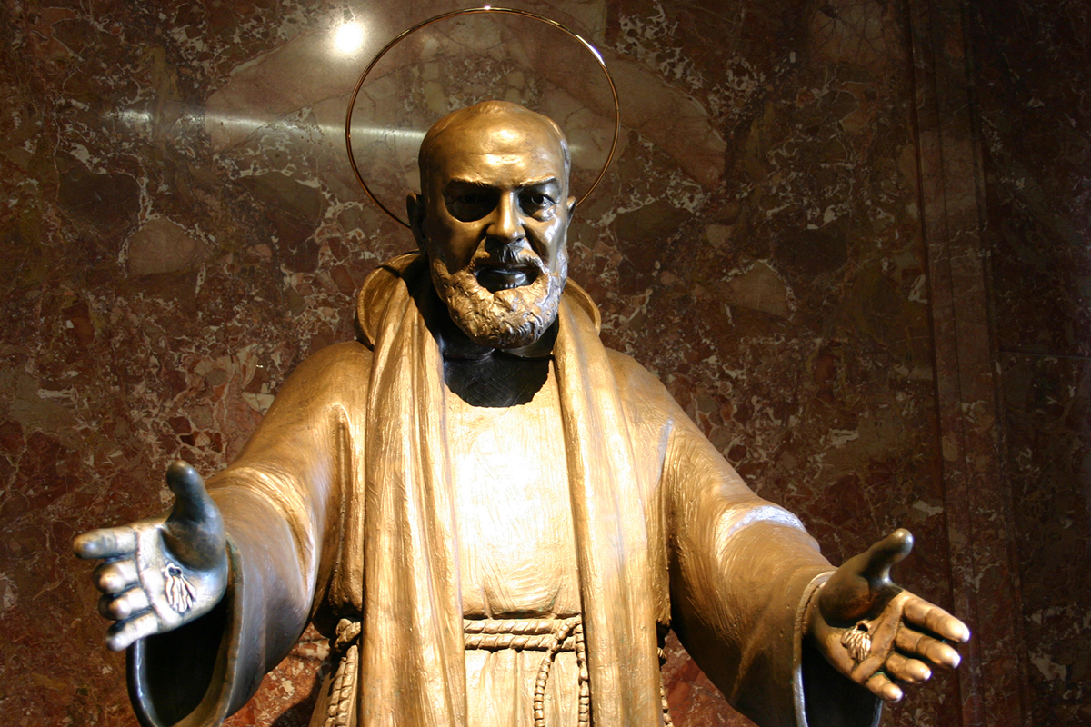The remains of Padre Pio will be in Rome from February 3 to 11, 2016 on the occasion of the Jubilee