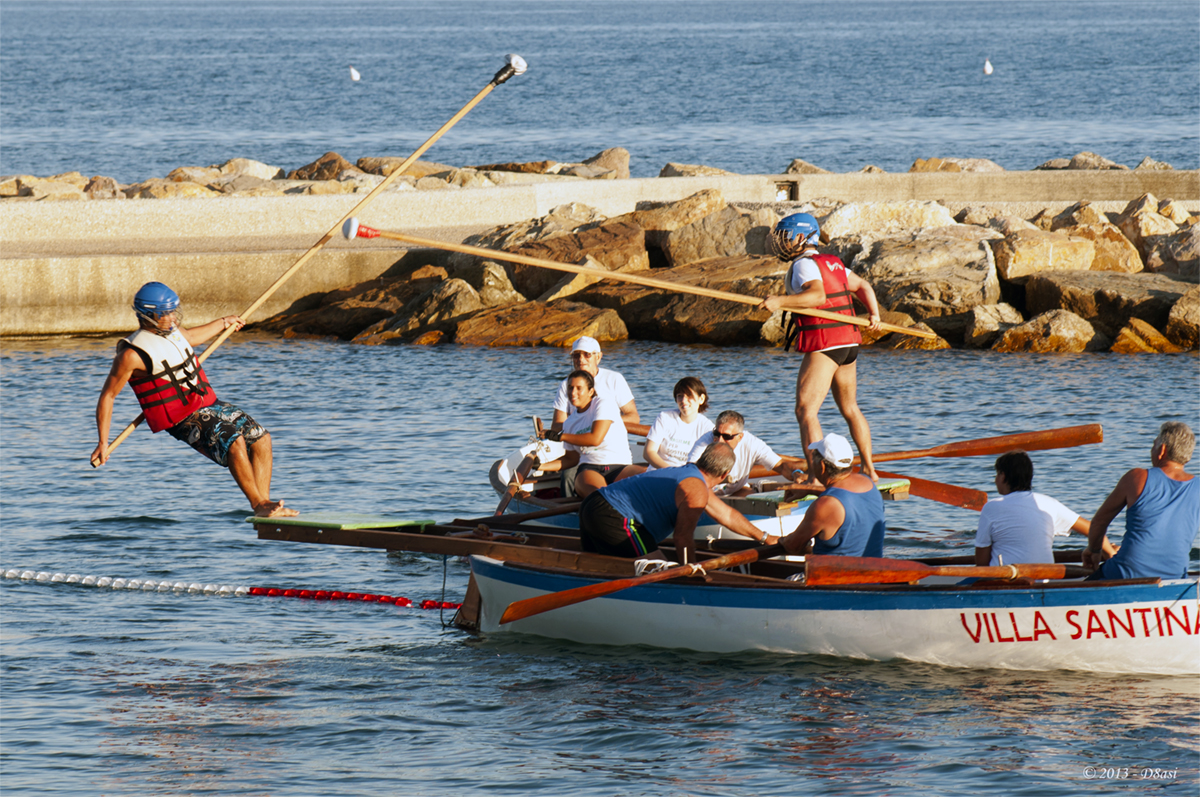 The 35th Nautical Palio of the Assumption and the Saracen in Civitavecchia