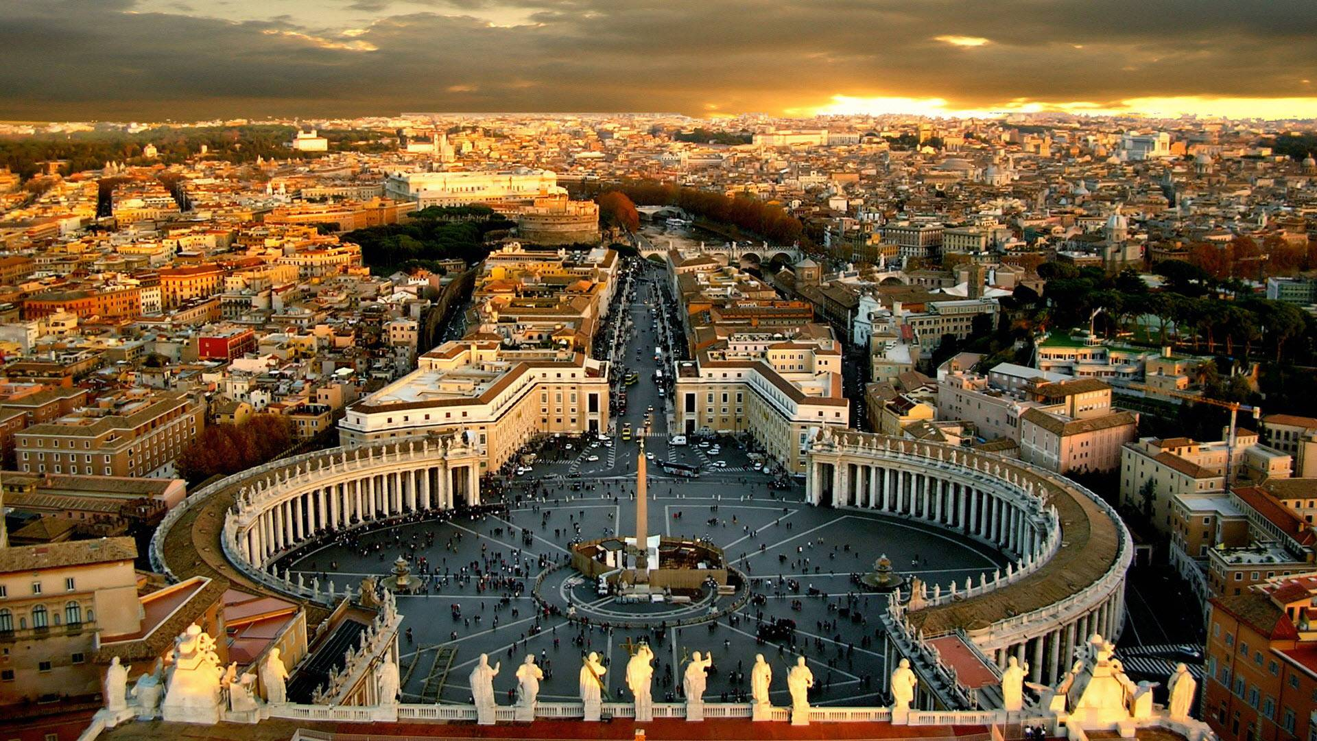 St. Peter's Square will be the arrival point for all pilgrims getting to Rome for the Jubilee
