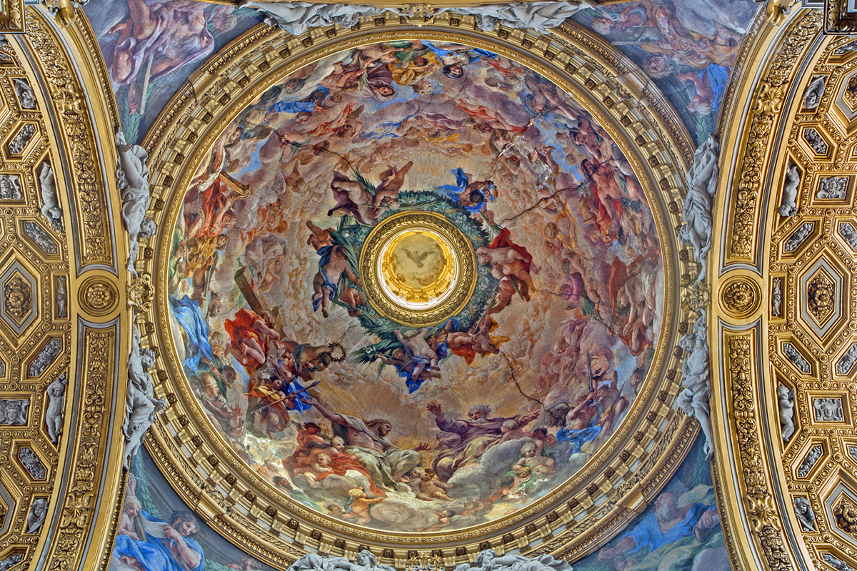 Santa Maria in Vallicella - Dome by Pietro da Cortona