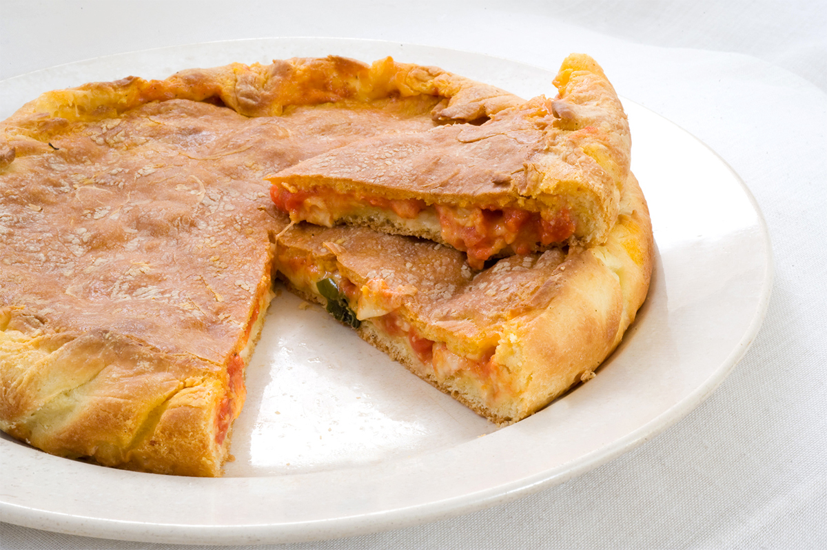 Civitavecchia Stuffed Pizza