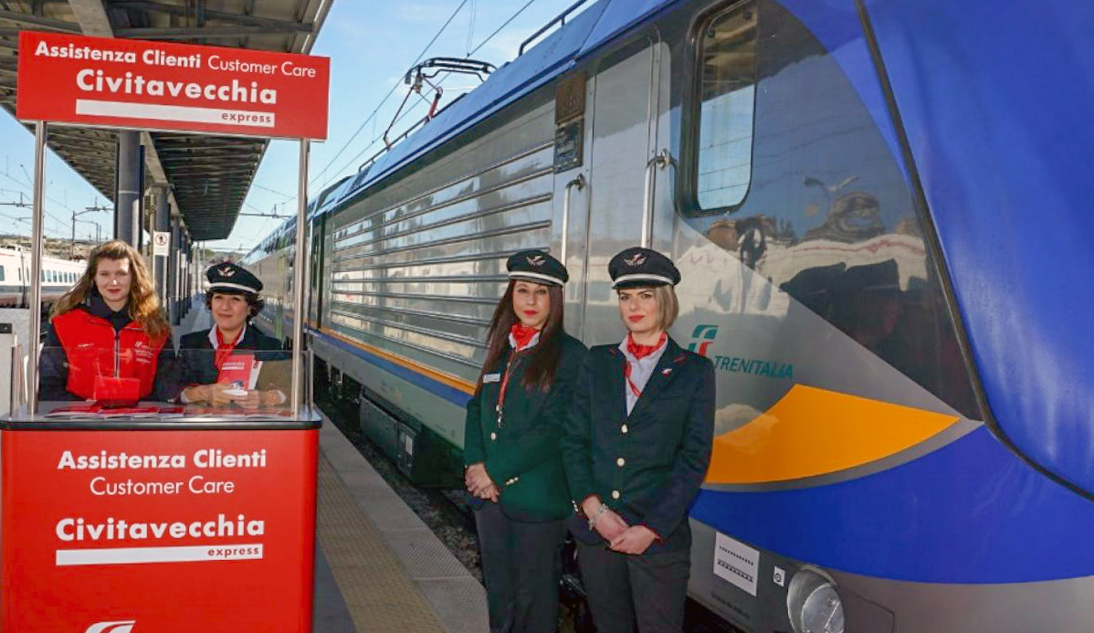 Presentation of Civitavecchia Express, new train for cruise travellers