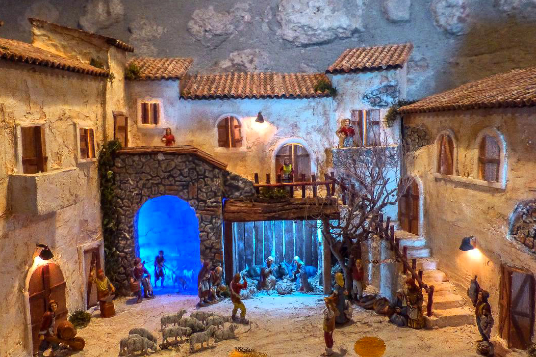 Nativity Scenes Exhibition at the Rock of Civitavecchia