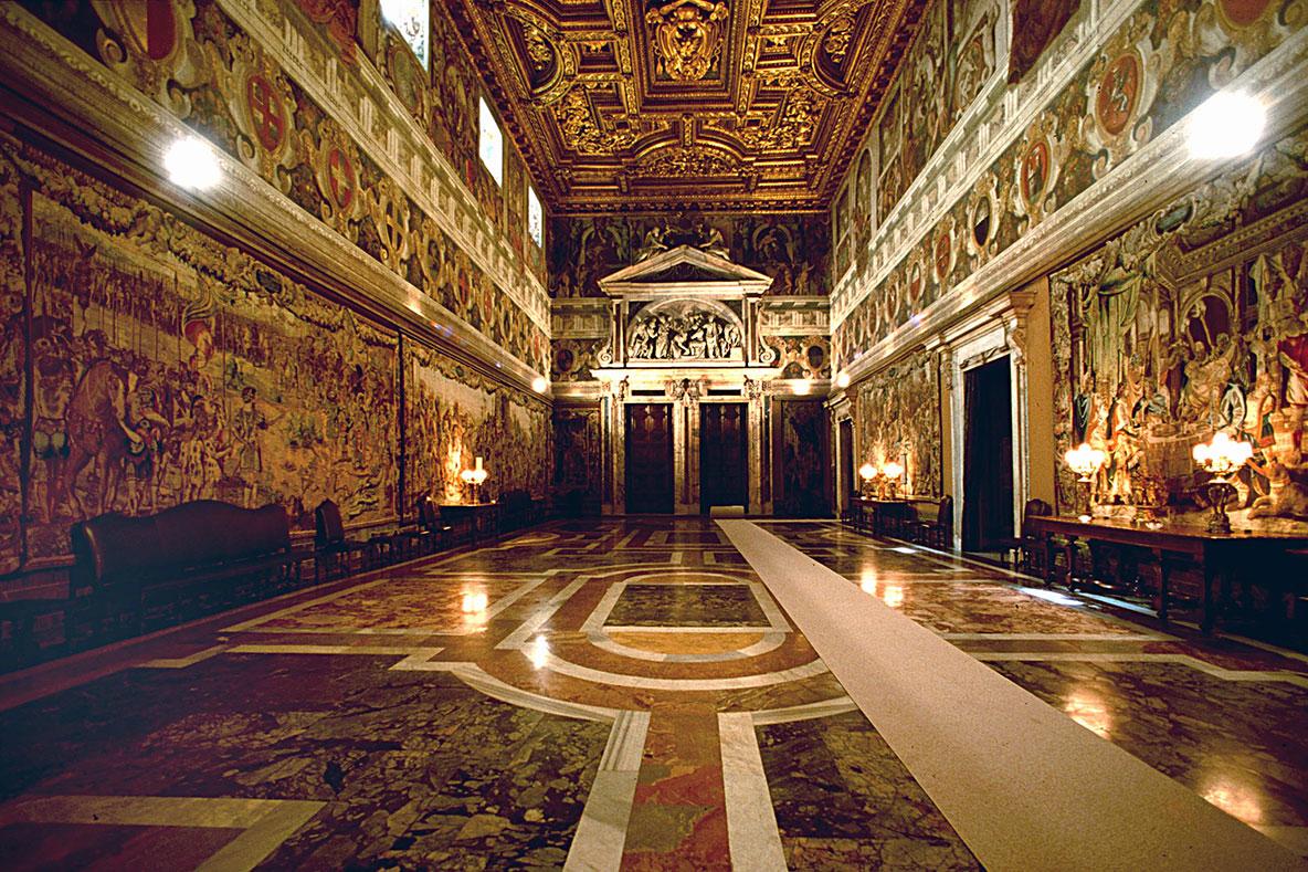 Quirinale: Il Palazzo Finalmente Aperto Al Pubblico Port Mobility  #B87C13 1184 789 Sala Da Pranzo Del Convento Nome