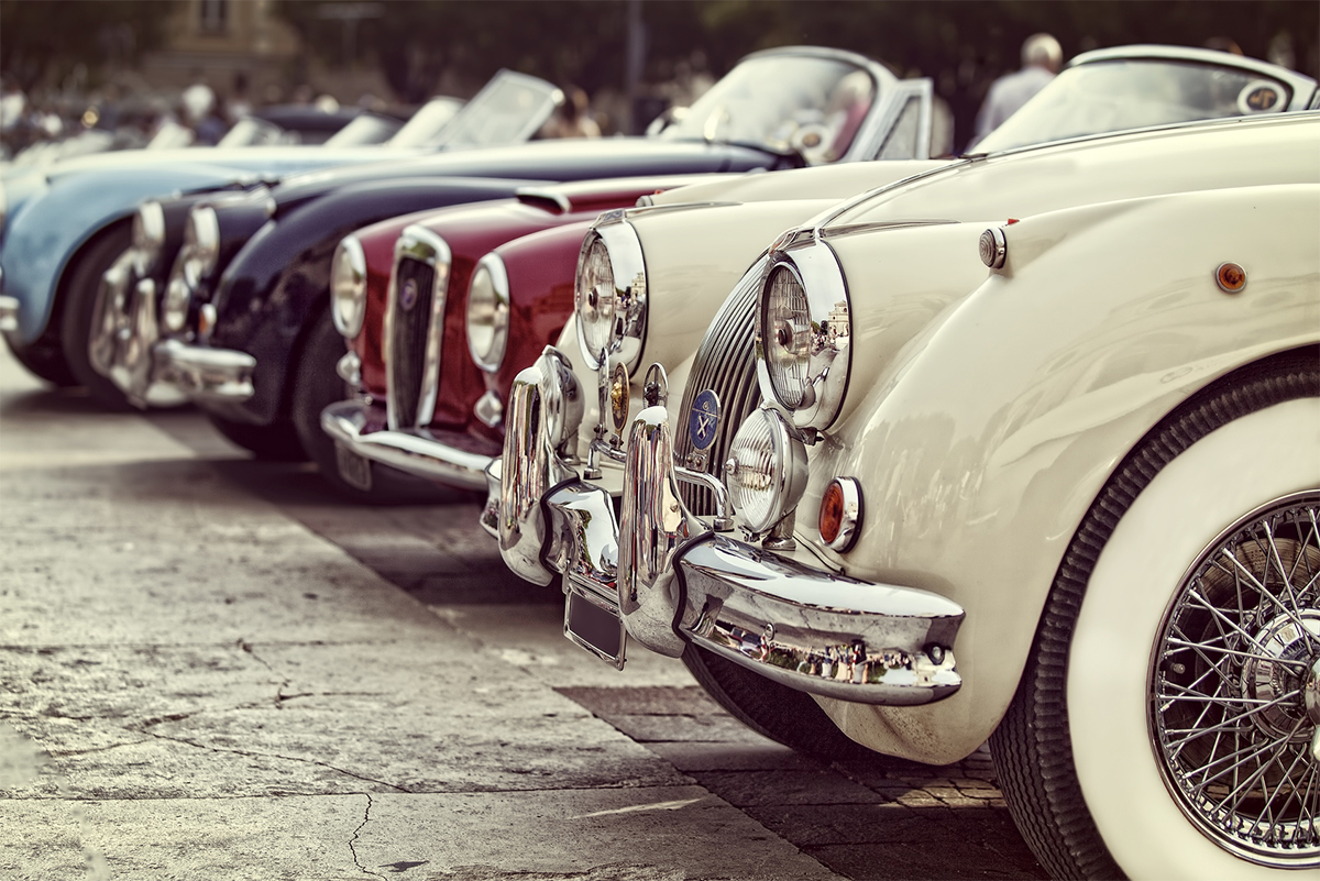 Sunday 29th October 2017 - Vintage cars and motorbikes gathering in the Port of Civitavecchia