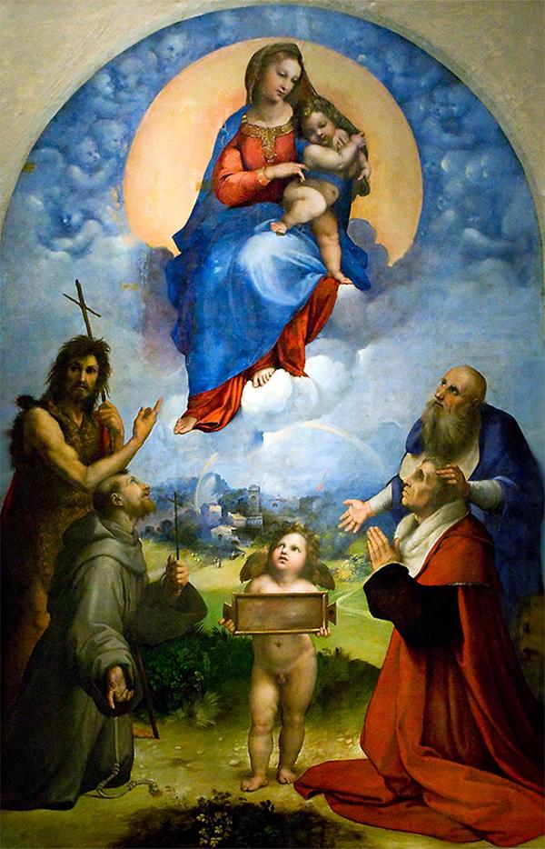 Raphael Sanzio - Madonna of Foligno